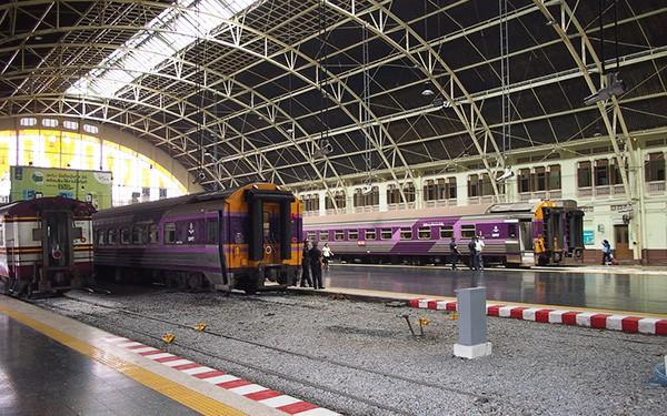 train travel from Bangkok